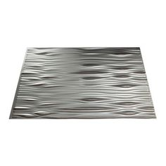 Fasade�24-1/2-in Brushed Aluminum Thermoplastic Multipurpose (Kitchen, Bath or Bar) Backsplash