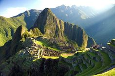 "Machu Picchu in Peru! :) Be like Gloria Estefan in video ""Wrapped""..."