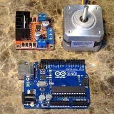 Arduino Stepper Motor Controller   Arduino Board