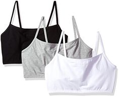 e096bc4d0ae0f Fruit of the Loom Women s Cotton Pullover Sport Bra(Pack of 3