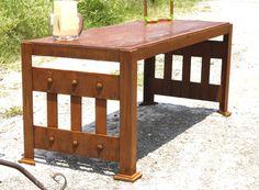 Somos muebles diferentes.  madera-hierro@hotmail.com