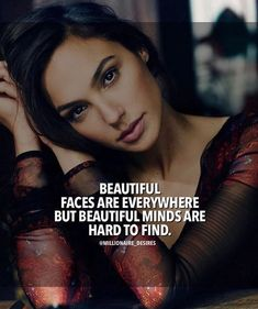 Beautiful faces are everywhere..