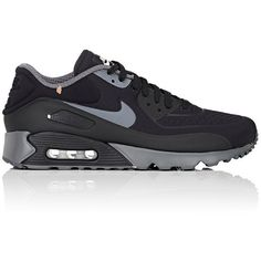 Nike Men's Air Max 90 Ultra SE Sneakers ($140) ❤ liked on Polyvore featuring men's fashion, men's shoes, men's sneakers, black, nike mens sneakers, men's low top sneakers, men's low top shoes, mens low tops and nike mens shoes