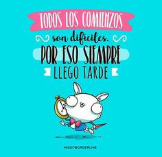 Funny Cute, Hilarious, Normal Quotes, Mr Cat, Mr Wonderful, Funny Thoughts, Bullet Journal Ideas Pages, Positive Messages, Spanish Quotes