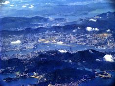 One more of Hong Kong in the air in 2009...I swear that I can get a glimpse of Tai Po in the distance.  Hehe