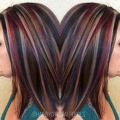 Best hair color ideas in 2017 104 - New hair - Hair Designs Hair Color 2017, Hair Color And Cut, Cool Hair Color, Red To Blonde, Brown Blonde, Hair Color Highlights, Chunky Highlights, Auburn Highlights, Caramel Highlights