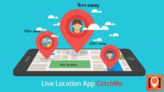 Share your live location with #CatchMe and ensure the safety of your own and your family with this family locator app. Download the Catchme app now, click www.tiny.cc/CatchMe