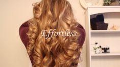 Easy, heatless curls and waves. Get tight curls, loose curls, or beachy waves using Cozy Curlers. Heatless Hairstyles, Heatless Curls, No Heat Hairstyles, Curled Hairstyles, Overnight Braids, Curly Hair Overnight, Overnight Waves, Curls No Heat, Loose Curls