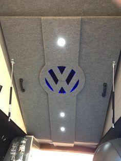 carpet lining around a new pop top - VW T4 Forum - VW T5 Forum