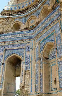 Islamic Classical Architecture.. Uch Sharif, Punjab, Pakistan