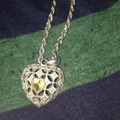 Vintage SS 925 Bracelet & Charm Beautiful Vintage Sterling Silver Bracelet with Heart charm vintage  Jewelry Bracelets