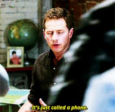 """It's just called a phone."" David - 4 * 8 ""Smash the mirror - 1"""
