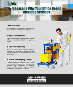 4 Reasons Why Your Office Needs #Cleaning Services