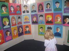 The school art show   thornberry