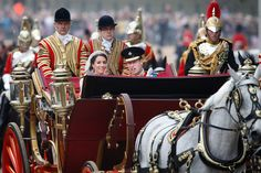 Kate Middleton - Royal Wedding - Carriage Procession To Buckingham Palace And Departures