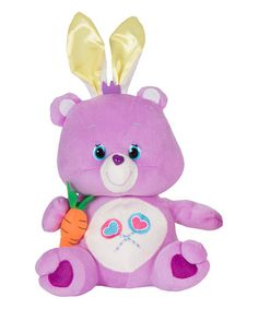 Look at this #zulilyfind! Share Bear Bunny Hopping Plush Toy #zulilyfinds