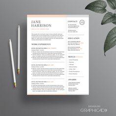 professional resume templates word