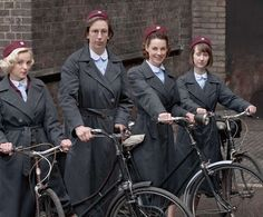 Another series has begun! A blast from the past with Season 4 of Call the Midwife!