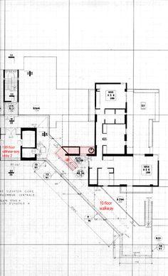 Habitat 67 Plan <b>habitat</b> '<b�</b> residences - case study 4, level 1