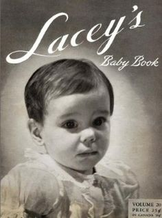Lacey's Baby Book - Vintage Crochet Pattern Book
