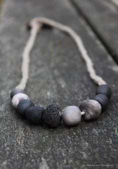 From Ashes Necklace No4 by TrivialityLab on Etsy