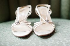 Strappy bridal sandals.  Photo by Kristina Hill (http://kristinahill.com/)