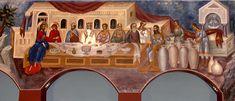 ΑΓΙΟΣ ΙΩΑΝΝΗΣ DETROIT MI U.S.A. Byzantine Icons, Byzantine Art, Fresco, Detroit Usa, Greek Icons, Life Of Christ, Orthodox Christianity, Orthodox Icons, Sacred Art