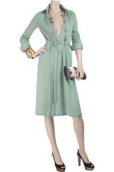 Halston Shirt dress NET A PORTER COM - Stylehive