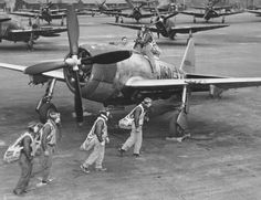 1325-205 ch-3 p-2 fighter pilots train in P-47 Thunderbolts at Dover Army Air Field