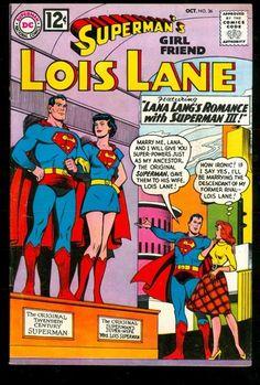 Superman's Girl Friend Lois Lane 36 7 0 FVF 1962 DC Lana Lang High Grade | eBay
