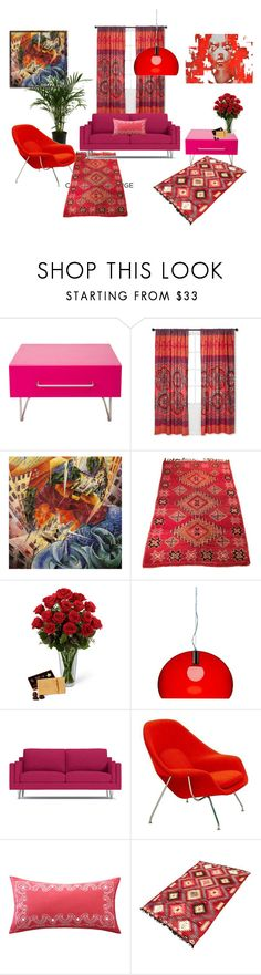 """COLOR CHALLENGE"" by susibonvi ❤ liked on Polyvore featuring interior, interiors, interior design, home, home decor, interior decorating, Cappellini, Boho Boutique, Knoll and Echo Design"