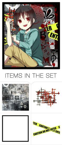 """""""Kousuke Kira (Btooom)"""" by laurablima-1 ❤ liked on Polyvore featuring art"""