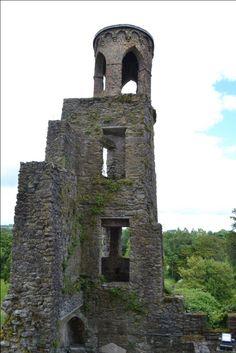 Blarney Castle and Gardens, Ireland Castles In Ireland, Tower Bridge, Great Places, Gardens, Building, Travel, Viajes, Outdoor Gardens, Buildings