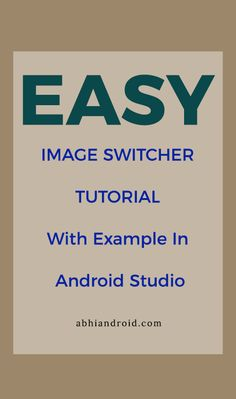 Tutorial on ImageSwitcher, its methods and attributes used with example in Android Studio. In Android, ImageSwitcher is a specialized ViewSwitcher that contain ImageView type children. Android Development Tutorial, Android Studio, Android Developer, Studios, Type, Children, Image, Young Children, Boys