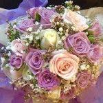 FullSizeRender Funeral Bouquet, Wedding Bouquets, Wedding Flowers, Pew Ends, Christmas Door Wreaths, Gloucester, Floral Wreath, Groom, Bridesmaid