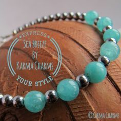 Not only will this bracelet sparkle your day with it's hint of summer, it will help you with its powers. The Agate protects from stress while the string of Hematite beads increase your intuition. Best worn on the left wrist.  #karma #jewelry #agate #hematite #bracelets #healing #yoga #handmade #jewellery #oneofakind #beads #oneofakind #yoga #yogajewelry #fashion #gems #healingstones #handmadejewelry #semipreciousstones #semiprecious #jewelry