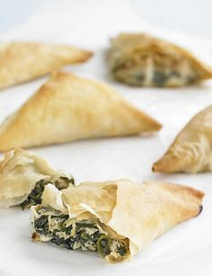 Spinach and feta are a classic combination and work really well with the zing of preserved lemon. Try it in these vegetarian filo parcels which make a great, simple starter, snack or lunch.