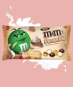 This New Candy Flavor is Inspired by a Classic Fall Dessert #chocolate trendhunter.com