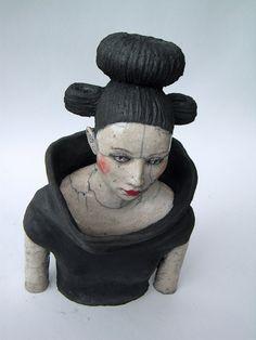 Melanie Bourget - Raku Ceramicist