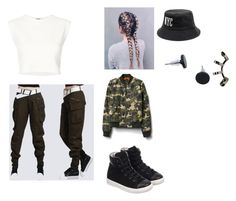 """outfit#3"" by ubertastic101 on Polyvore featuring Lanvin, Puma, Gap and Repossi"