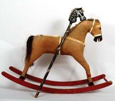 267: Early Rocking Horse and Pogo Horse