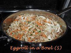 Plan to Eat - Egg Roll In a Bowl (S) - blackstonn