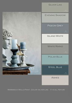Marrakech Walls Paint, Farbe: Silver Like. Foto D.- Marrakech Walls Paint, Farbe: Silver Like. Foto D. Ceulemans – Home: Living colo Marrakech Walls Paint Farbe: Silver Like. Foto D. Ceulemans Home: Living colo -