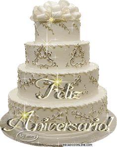 bolo de feliz aniversario para imagens | Feliz Aniversario Bolo Recados Para Orkut - Feliz Aniversario Bolo ...