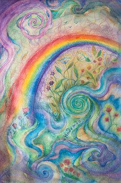 Hope watercolor painting by SailAwayArts on Etsy
