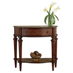 Found it at Wayfair - Caye Console Table in Cherry http://www.wayfair.com/daily-sales/p/Favorite-Accent-Tables-Caye-Console-Table-in-Cherry~BTL4616~E17414.html?refid=SBP.rBAZEVSzAg9kTSAaQnQ0AkiYFw94W0VCtS73Os9IzkM
