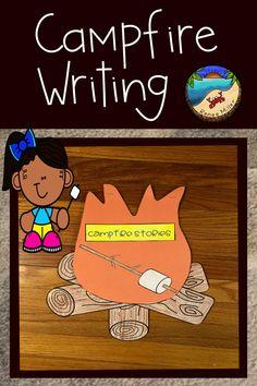 Camping Activities, Writing Activities, Classroom Activities, Activities For Kids, Holiday Activities, First Day Of School Activities, School Resources, Teacher Resources, Kindergarten Blogs