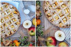 Křehký koláč s jablky (Apple pie) Apple Pie, Bread, Fruit, Food, Brot, Essen, Baking, Meals, Breads