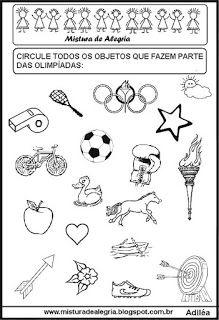 Atividades sobre a olimpíadas para colorir                                                                                                                                                      Mais