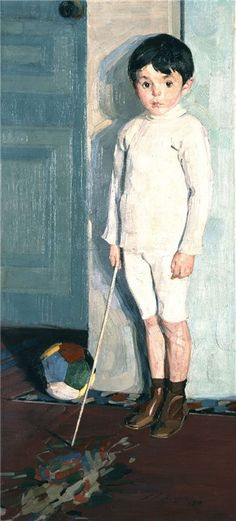Portrait of young K.M, 1914  Nikolaos Lytras (looks like it could be a young Paul McCartney)
